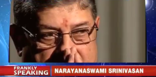 Dealing with Stress Interviews – A look at Frankly Speaking with ex-BCCI Chief N. Srinivasan