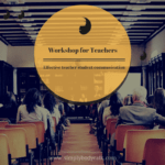 Effective teacher student communication